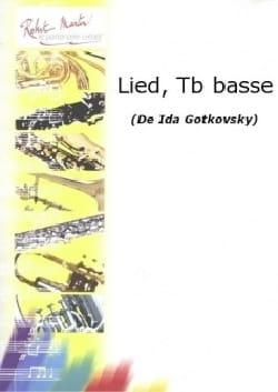 Lied Ida Gotkovsky Partition Trombone - laflutedepan