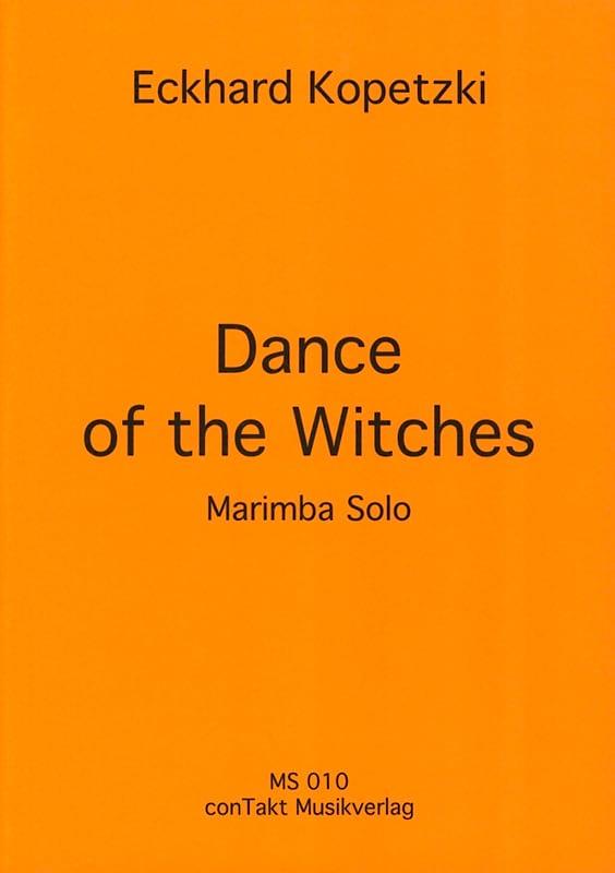 Dance of the witches - Eckhard Kopetzki - Partition - laflutedepan.com