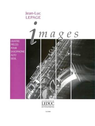 Images Jean-Luc Lepage Partition Saxophone - laflutedepan
