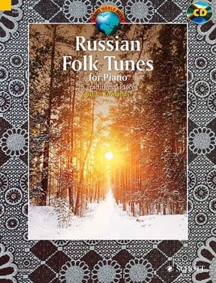 Russian Folk Tunes for Piano Traditionnel Russe Partition laflutedepan