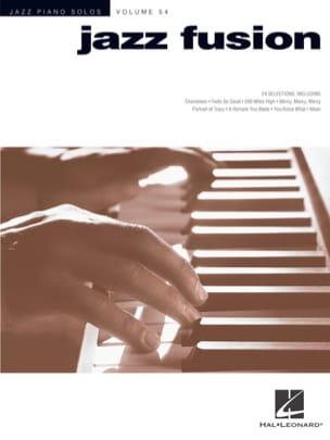 Jazz Piano Solos Series Volume 54 - Jazz Fusion laflutedepan