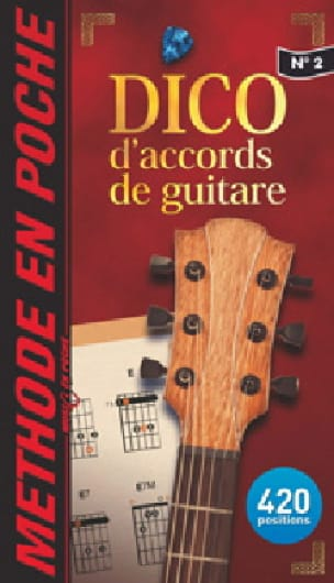 Dictionnaire d'Accords de Guitare - Partition - laflutedepan.com