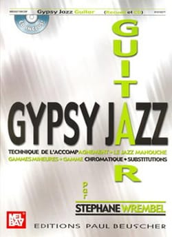 Gypsy Jazz Guitar Stephane Wrembel Partition Guitare - laflutedepan