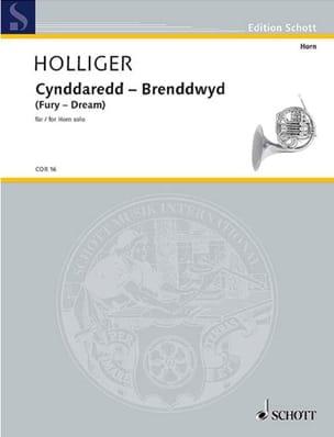 Cynddaredd - Brenddwyd Fury - Dream Heinz Holliger laflutedepan