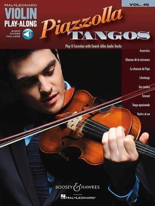 Violin Play-Along Volume 46 Piazzolla Tangos laflutedepan