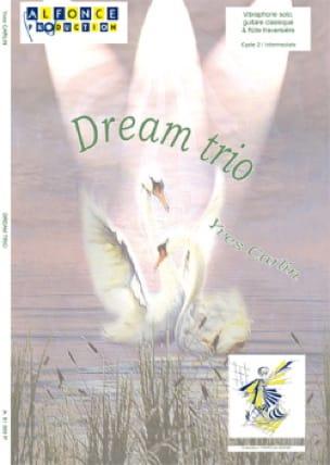 Dream trio - Yves Carlin - Partition - Vibraphone - laflutedepan.com