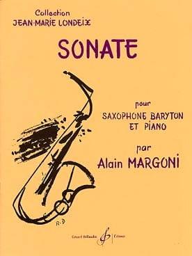 Sonate Alain Margoni Partition Saxophone - laflutedepan