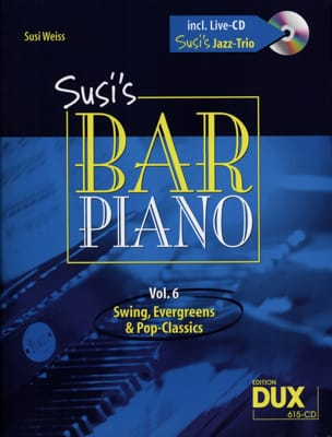 Susi's bar piano volume 6 Partition Jazz - laflutedepan