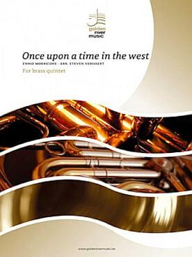 Ennio Morricone - Érase una vez en el oeste - Brass Quintet - Partition - di-arezzo.es