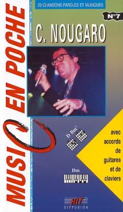 Claude Nougaro - Music in the bag N ° 7 - Partition - di-arezzo.com