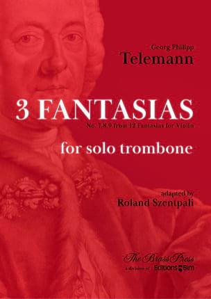 3 Fantaisies - Georg Ph Telemann - Partition - laflutedepan.com