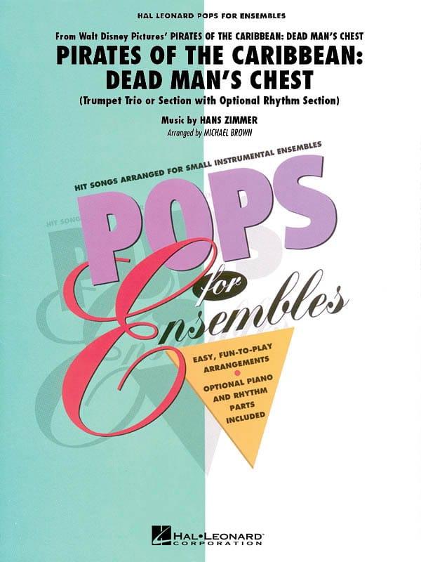 Pirates des Caraïbes 2 - Le Secret du Coffre Maudit - Pops for Ensembles - laflutedepan.com