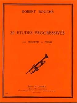 20 Etudes progressives Robert Bouché Partition laflutedepan