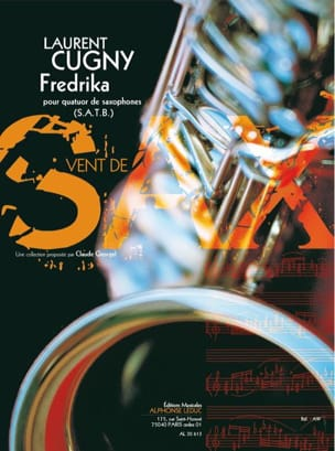 Fredrika - Laurent Cugny - Partition - Saxophone - laflutedepan.com