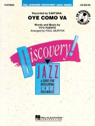 Discovery Jazz series - Oye Como Va - Tito Puente - laflutedepan.com