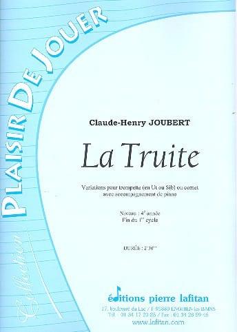 La Truite - Claude-Henry Joubert - Partition - laflutedepan.com