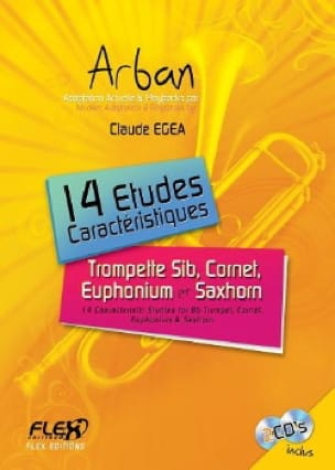 14 Etudes Caractéristiques - Bb Instruments - laflutedepan.com