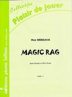 Magic rag Max Méreaux Partition Saxophone - laflutedepan