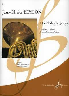 11 Mélodies Originales Jean-Olivier Beydon Partition laflutedepan