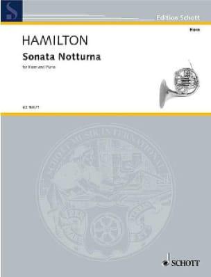 Sonata Notturna - Iain Hamilton - Partition - Cor - laflutedepan.com