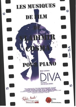 Les Musiques de Films Volume 1 Vladimir Cosma Partition laflutedepan