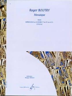 Mosaïque Roger Boutry Partition Tuba - laflutedepan