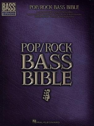 Pop / Rock bass bible Partition Pop / Rock - laflutedepan