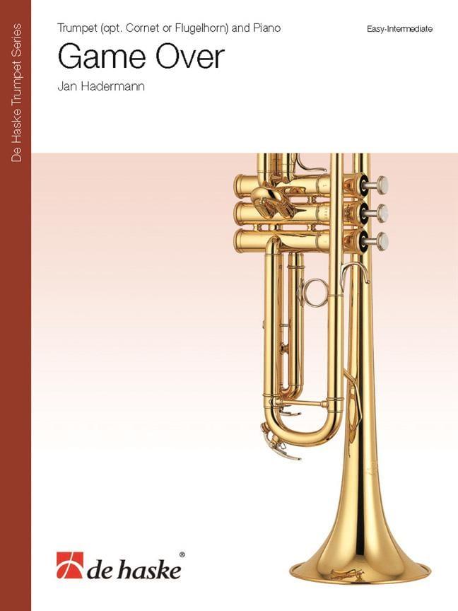 Game Over - Jan Hadermann - Partition - Trompette - laflutedepan.com