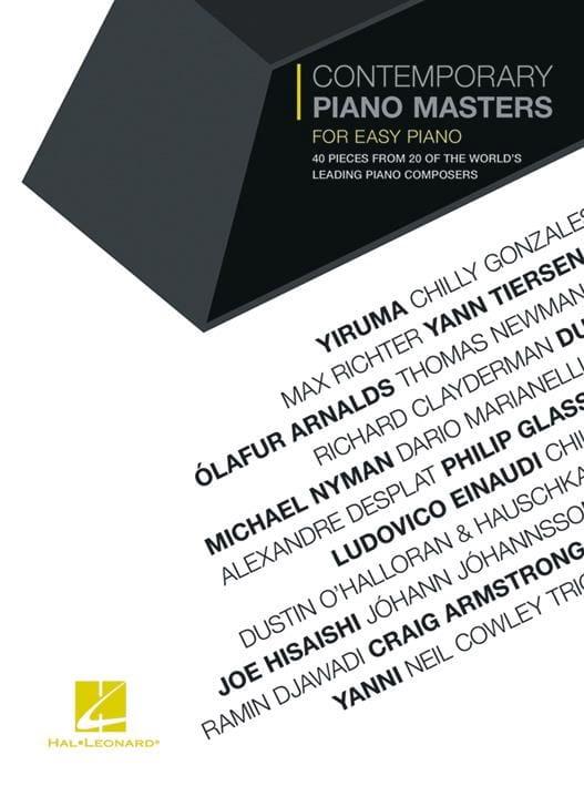 Contemporary Piano Masters for Easy Piano - laflutedepan.be
