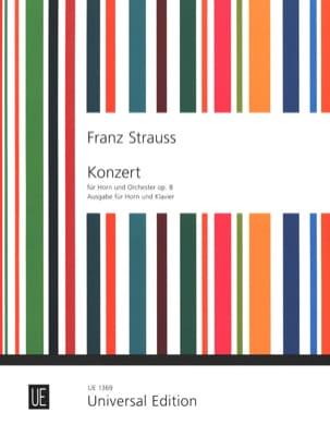 Concerto pour COR opus 8 en mi bémol Franz Strauss laflutedepan