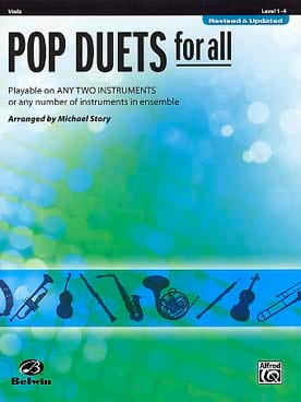 Pop duets for all - Revised & Updated Partition Alto - laflutedepan