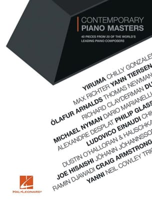 Contemporary Piano Masters for Piano Partition laflutedepan