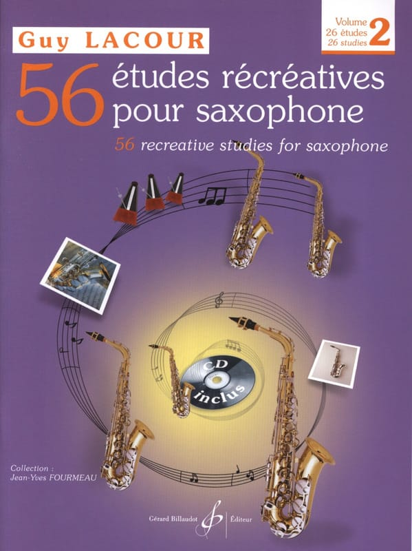 56 Etudes Récréatives Volume 2 - 26 Etudes - laflutedepan.com