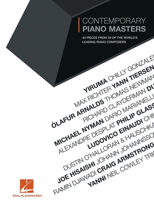 Contemporary Piano Masters for Piano - Partition - laflutedepan.be