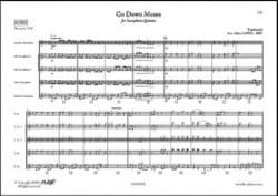 Go Down Moses - Traditionnel - Partition - laflutedepan.com