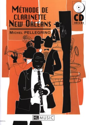 Méthode de Clarinette New Orleans Michel Pellegrino laflutedepan