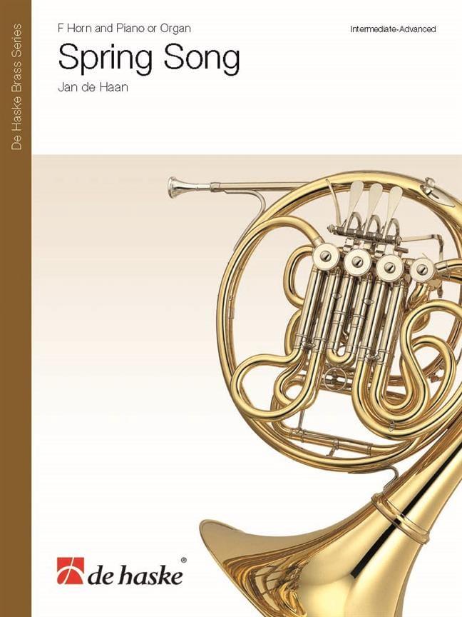 Spring Song - Jan de Haan - Partition - Cor - laflutedepan.com