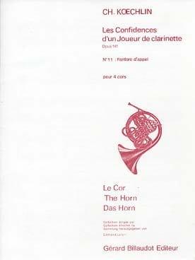 Fanfare D'appel Opus 141 N° 11 Charles Koechlin Partition laflutedepan