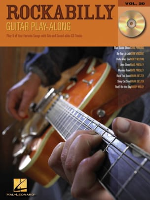 Guitar Play-Along Volume 20 - Rockabilly Partition laflutedepan