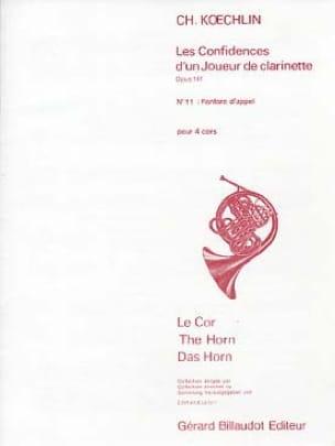 Fanfare D'appel Opus 141 N° 11 - Charles Koechlin - laflutedepan.com
