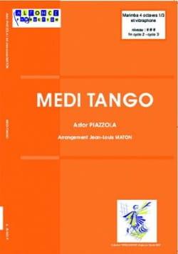 Medi-tango Astor Piazzolla Partition laflutedepan