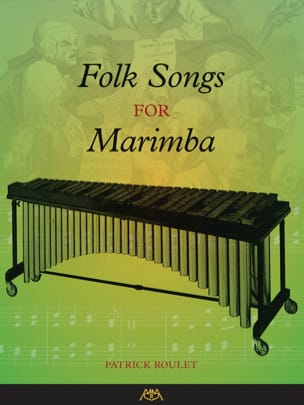 Folk Songs for Marimba Partition Marimba - laflutedepan