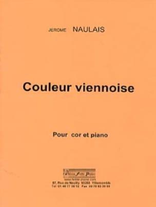 Couleurs Viennoises - Jérôme Naulais - Partition - laflutedepan.com