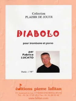 Diabolo Fabrice Lucato Partition Trombone - laflutedepan