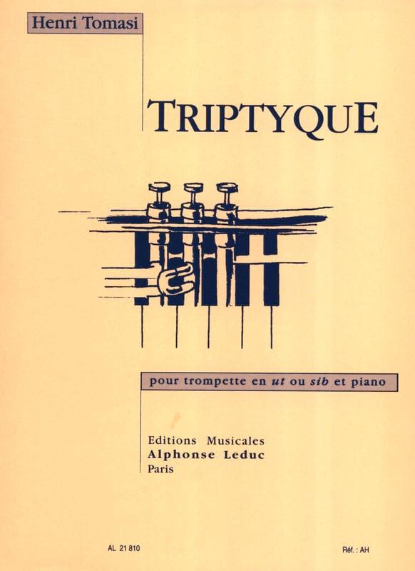 Triptyque - TOMASI - Partition - Trompette - laflutedepan.com