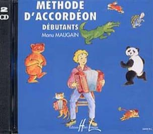 Manu Maugain - CD - Accordion Method - Partition - di-arezzo.com