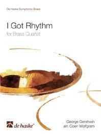 I Got Rhythm GERSHWIN Partition Ensemble de cuivres - laflutedepan