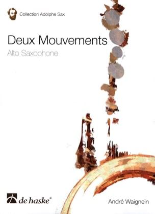 Deux Mouvements André Waignein Partition Saxophone - laflutedepan