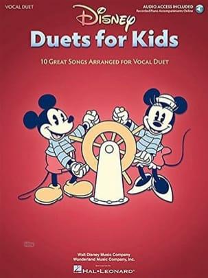 Disney Duets for Kids DISNEY Partition Musique de film - laflutedepan