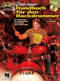 Das neue Handbuch für den Rockdrummer Jeff Bowders laflutedepan